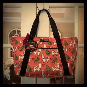Betsey Johnson Insulated Cooler Tote
